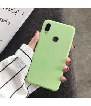 Силиконовый чехол для Xiaomi Redmi Note 7 (Olive)