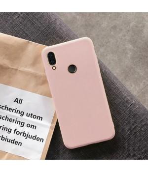 Силиконовый чехол для Xiaomi Redmi Note 7 (Powder)