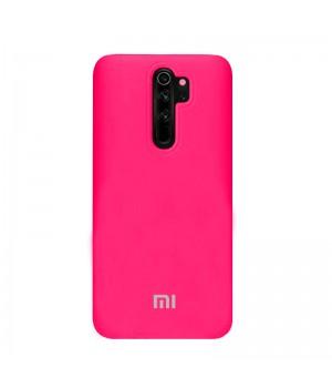 Чехол Silicone Case для Xiaomi Redmi Note 8 Pro (Hot Pink)