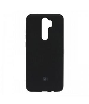 Чехол Silicone cover для Xiaomi Redmi Note 8 Pro (Black)