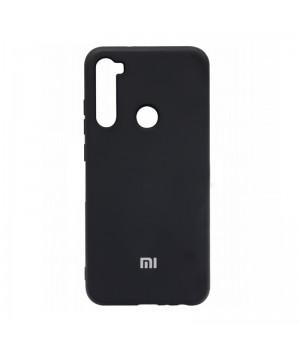 Чехол Silicone cover для Xiaomi Redmi Note 8 (Black)