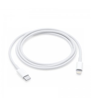 Кабель U1 Type-C to Lightning для Apple, 100 см (Белый)