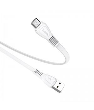 Кабель USB Hoco X40 Micro-USB , 100 см (Белый)