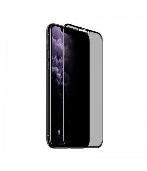 Стекло защитное 9H с Приват Фильтром для iPhone 11 Pro Max/iPhone Xs Max (Black)