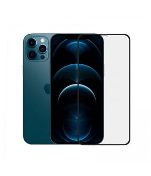 Стекло защитное из закаленного стекла премиум-класса 18D c мягкой окантовкой  для iPhone 12 Pro Max