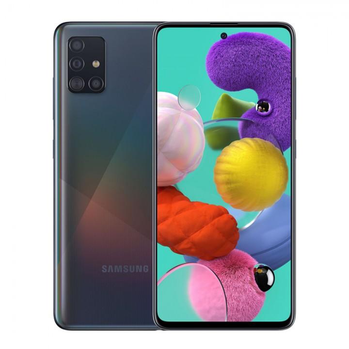 Смартфон Samsung Galaxy A51 128Gb Prism Crush Black (SM-A515F/DSN)