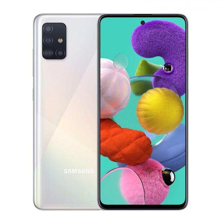 Смартфон Samsung Galaxy A51 64Gb Prism Crush White (SM-A515F/DSN)