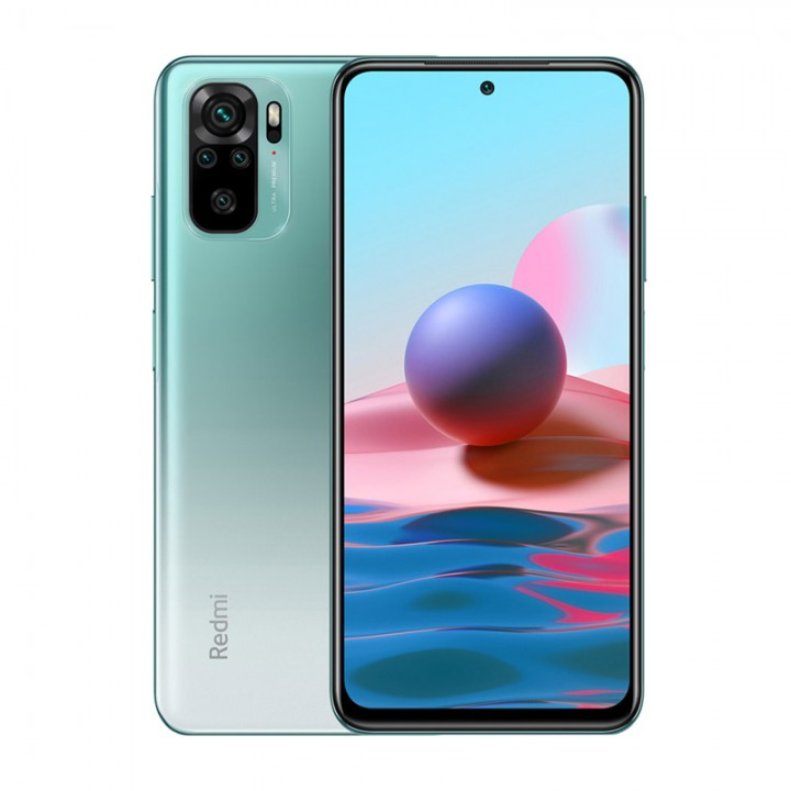 Смартфон Xiaomi Redmi Note 10 4Gb/64Gb Lake Green