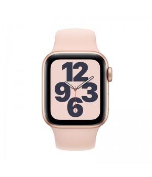 Apple Watch SE, 44mm, корпус из алюминия золотого цвета, спортивный ремешок (Sport Band) «розовый песок»